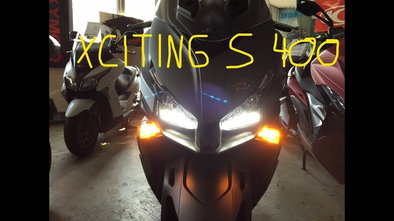 Kymco Xciting S 400i ABS - Black and Silver, Noodoe, Storages, Walkaround, Details