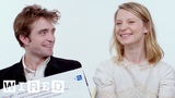 Robert Pattinson &amp Mia Wasikowska Answer the Web's Most Searched Questions WIRED