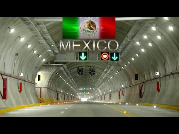 Mexico I Vía Escénica Alterna Acapulco Macrotúnel Obra Emblemática de la Ingeniería Mexicana