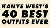 Kanye West's Top 40 Outfits Ever An Animated Guide
