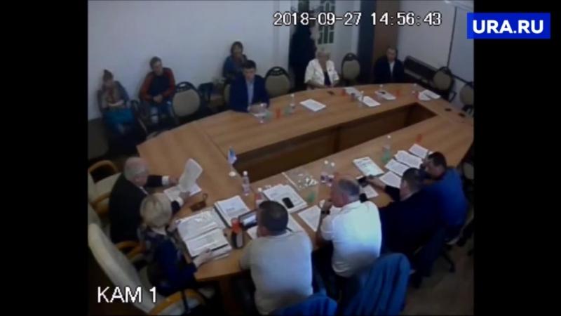 В Среднеуральске отправили в отставку председателя Думы