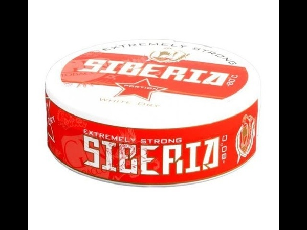 Обзор на снюс Siberia Red Extremely Strong