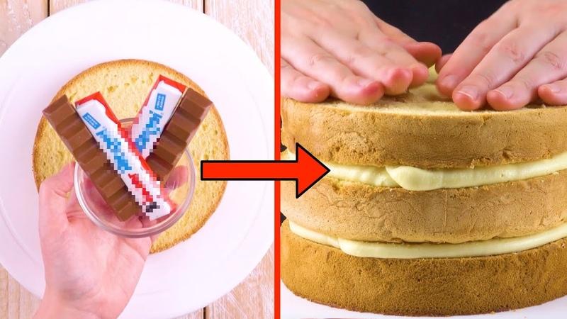 Растопим шоколадные батончики и добавим нежный крем. Бесподобно!
