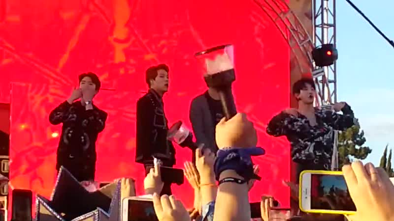 [Fancam][30.11.2018] MONSTA X -TRESPASS (rock ver.) pt3 @ KIIS FM JINGLE BALL VILLAGE LA