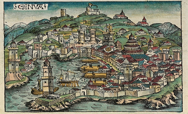 Генуя, Италия В период античности на территории нынешнего города располагалась крохотная греческая колония здесь найдены остатки греческих захоронений. Во время Пунических войн Лигурия выступала