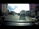 Чуть не сбила пешехода в Казани