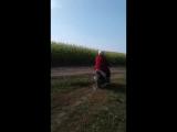 мамка на скутере еее