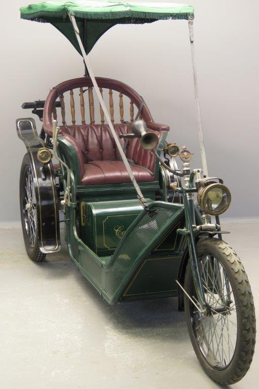 Электрический трицикл Carter 1919