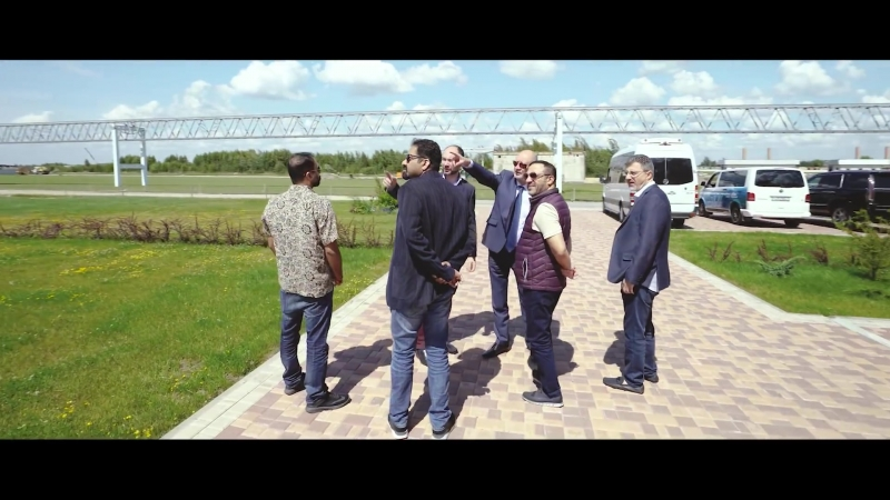 Delegation from the UAE to SkyWay Technologies Co.
