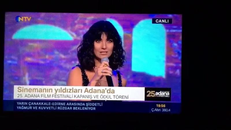 TubaBüyüküstün Adana Film festivali En İyi Erkek o...