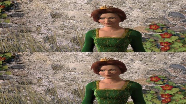 Шрек в 3D Shrek 3D (2001) (мультфильм, фэнтези, комедия, приключения, семейный)