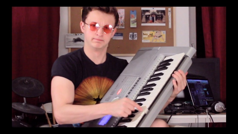 When you only know 4 notes but you gotta set the internet on fire