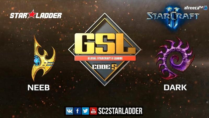 2018 GSL Season 3 Ro32, Group G, Match 1: Neeb (P) vs Dark (Z)