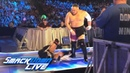 Samoa Joe attacks Tye Dillinger before SmackDown LIVE SmackDown Exclusive July 10 2018