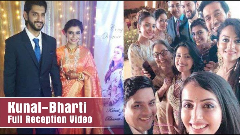 "Tv Celebrities At The Reception Party Of ""Kunal Jaisingh"" And ""Bharti Kumar"" 