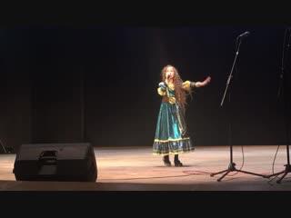 Кристина на вокальном конкурсе