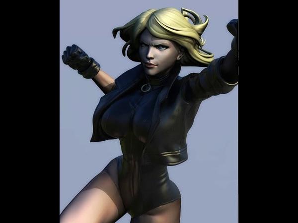 016 016 Black Canary challenge onehouralldays CG Pyro Zbrush