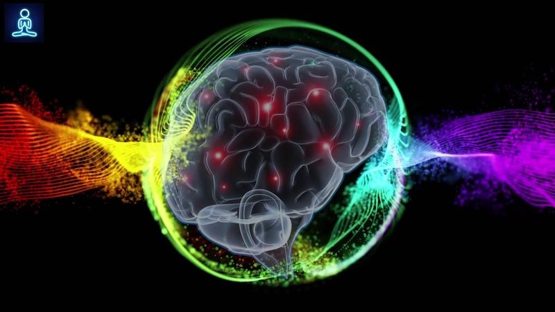 Powerful Brain Healing Music Remove Mental Blocks Negativity, Brain Massage Meditation