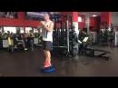 Тренировки K2Sport Владимир Чирской Приседания с переводом ноги на BOSU