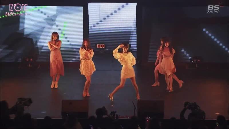 190206 IZONE (아이즈원) - See you again - Japan Debut Showcase.
