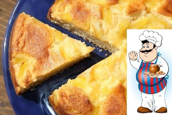 Творожный пирог с ананасами от Вероники Крамарь. Хочу поделиться рецептом простого, но в тоже время очень вкусного творожного пирога с кусочками ананаса. Выпечка получается высокой, воздушной,