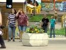 Новомосковские спортсмены провели акцию в детском парке
