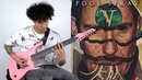 Marc Okubo Veil of Maya Pool Spray Guitar Playthrough Kiesel Guitars