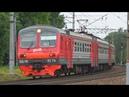 Электропоезд ЭД4М 0374 с рейсом Икша Голицыно