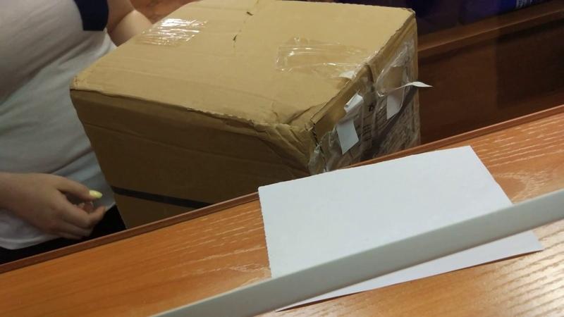 Распаковка ворованой посылки с computeruniverse