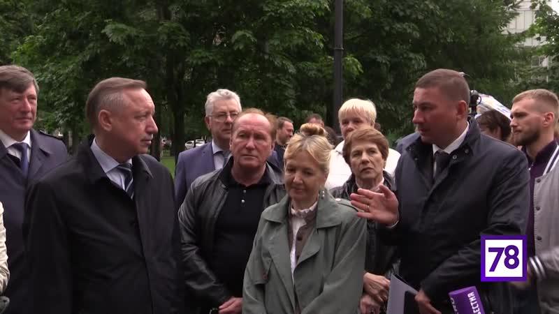 Александр Беглов провёл рабочий объезд Петроградского района
