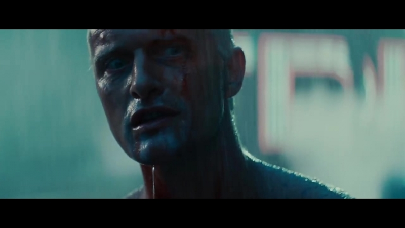 Blade Runner - Final scene, Tears in Rain Monologue (HD)