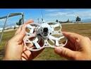 URUAV UR85 Brushless Whoop FPV Racer Drone Flight Test Review