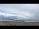 На пляже. Пярну