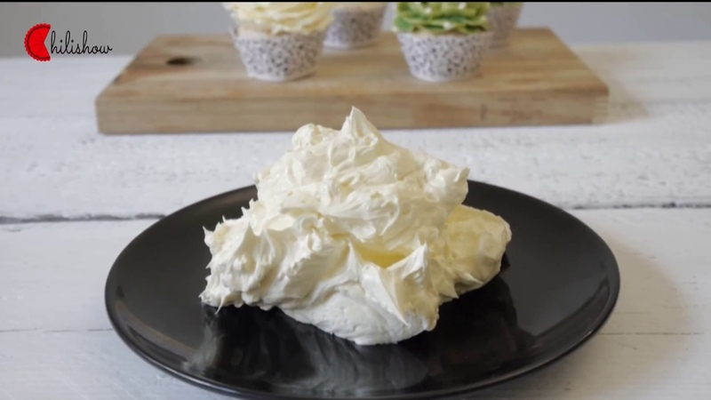 Buttercream recipe, easy and tasty (eng/viet subtitle)