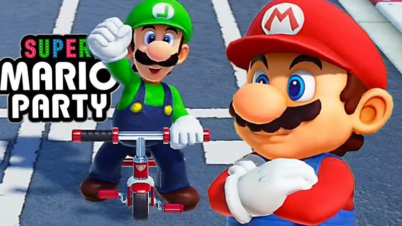 СУПЕР МАРИО ПАТИ 2018 Игровой мультик для детей 2018 Super Mario Party All Minigames