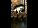 Darren singing Cough Syrup at the Krug event in Aspen
