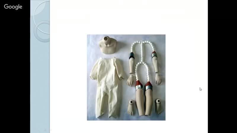 Мастер класс лепка куклы. Пропорции куклы. Ольга Кижаева