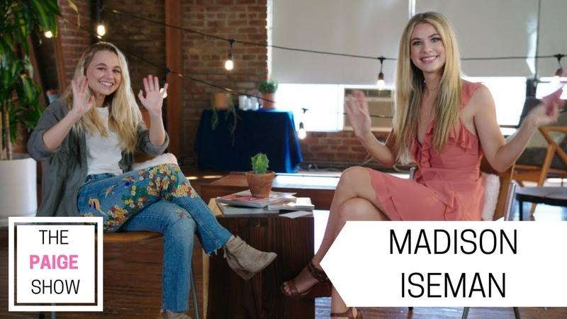 Madison Iseman talks Acting Jumanji and Working With Jack Black The Paige Show