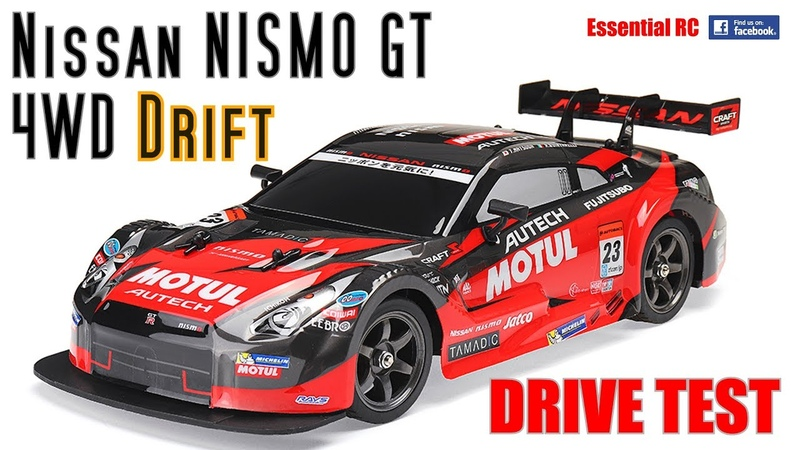 NISSAN Nismo GT RACING DRIFT RC Car (SUPER 1st CHEAP DRIFT RC CAR) ESSENTIAL RC DRIVE TEST