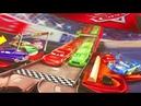 Тачки Игрушки Большой Молния Маквин и Трек Трансформер Мультики про Машинки Видео для Детей