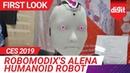 CES 2019 Robomodix's Alena Humanoid Robot