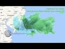 Captured On Radar, Geoengineered Winter Weather Over Atlantic City/Модификация климата, геоинженерия химтрейлы