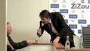 Chelsea Manager Antonio Conte Tastes Reporter's Cake ► FUNNY
