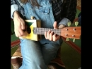 Montecristo ukulele with piezo