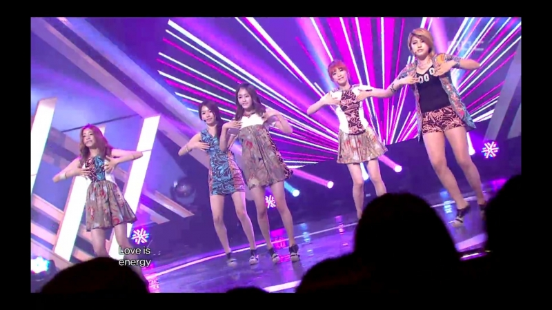 CHI CHI - Love is energy, 치치 - 러브 이즈 에너지, Music Core 20120721