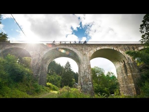 Discover Belgium Ardennes by drone 4K   Dinant, Luxembourg, La Roche, Bastogne   DJI Mavic pro