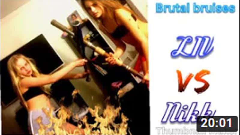 BRUTAL BRUISES WWE LIV MORGAN VS NIKKI BELLA NO DISQUALIFICATION