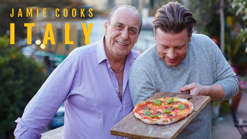 Jamie Cooks Italy - Pizza, Acquapazza, Pasta and Roasted Lamb
