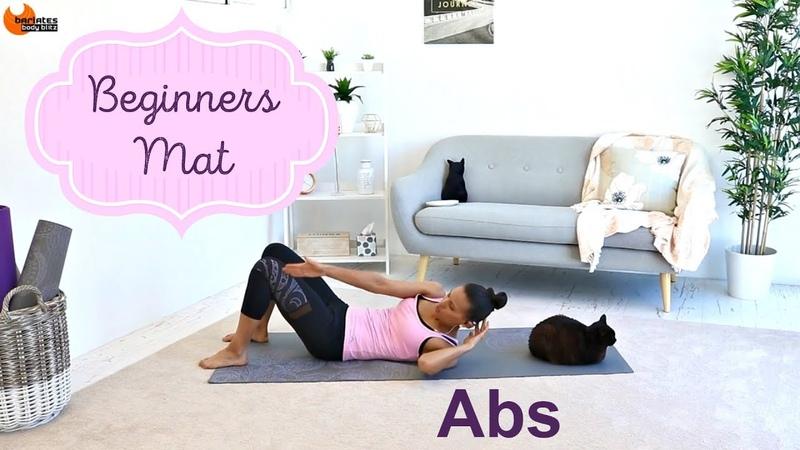 Pilates Beginners workout Abs Workout - BARLATES BODY BLITZ Beginners Mat Abs
