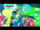 140802 Red Velvet - Happiness @ Music Core debut stage